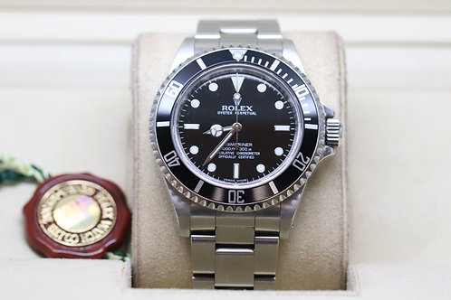 Rolex Submariner non Date with Box and Papers