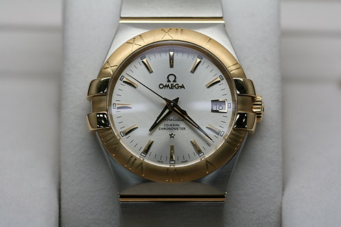 Omega Constellation 18ct & Steel