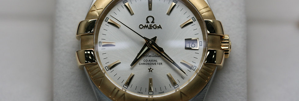 Omega Constellation 18ct & Steel Co-Axial