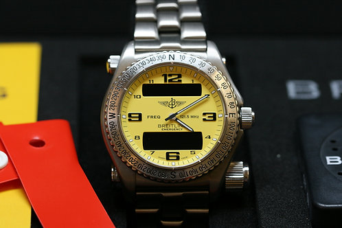 Breitling Emergency Aeronautical Dual Display Watch