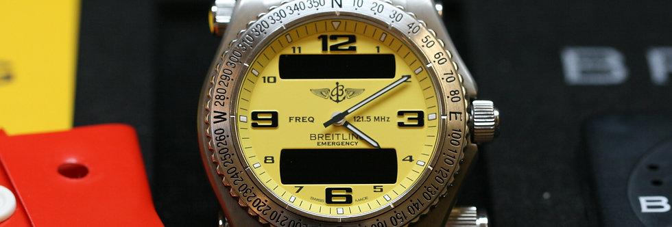 Breitling Emergency Aeronautical Dual Display Watch