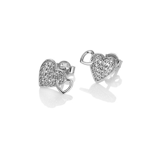 Togetherness Heart Earrings