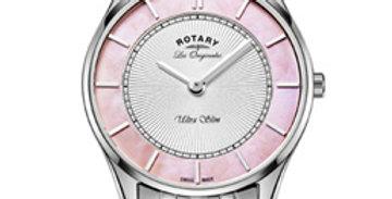 Rotary Ultra Slim Stainless Steel Swiss Watch