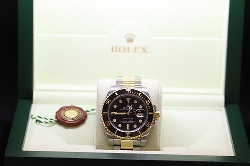 Rolex Submariner GMT MASTER II 18ct Gold and Steel