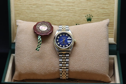 Rolex Datejust 18ct and Steel Diamond Dot