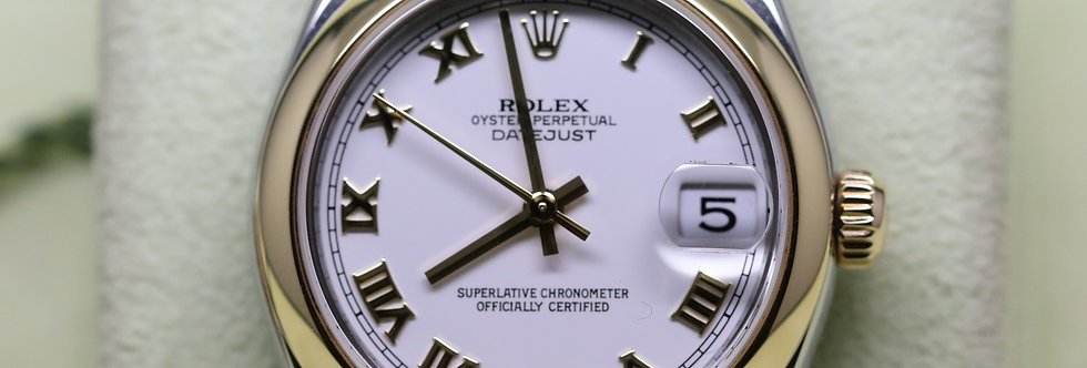Rolex 18ct Yellow Gold and Stainless Steel Datejust