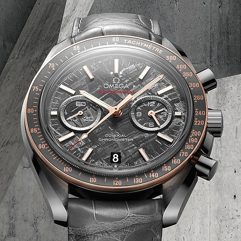 Omega Co Axial Grey Side of The Moon - Meteorite Edition