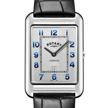 Rotary Gents Stainless Steel Strap Cambridge