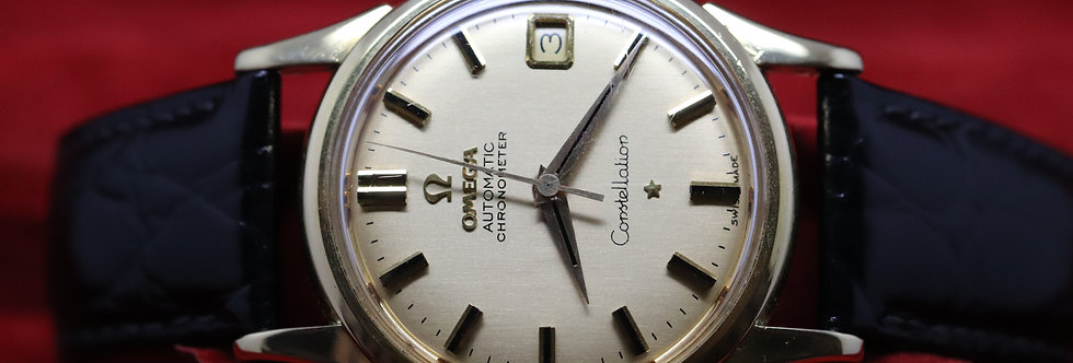 Omega 18ct Yellow Gold Constellation with Date