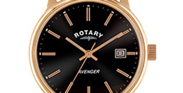 Rotary Avenger Rose gold plated watch