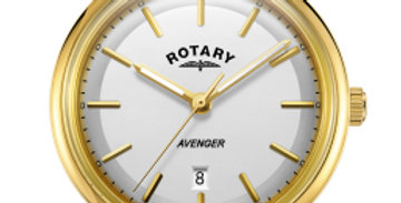 Rotary Gold Avenger Gents Quartz