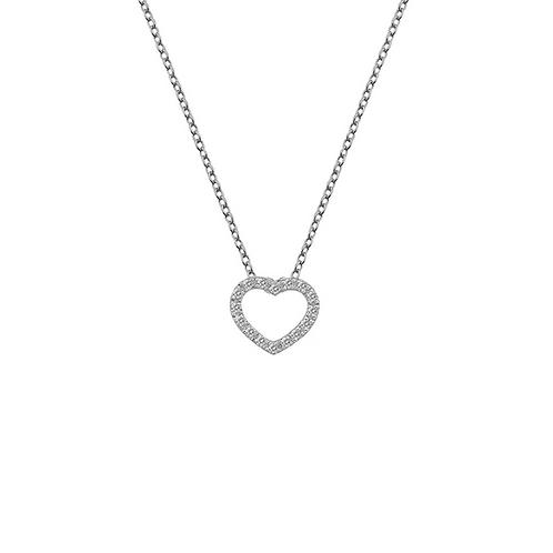 Hot Diamonds Striking Heart Pendant