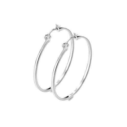 Hoops Earrings - Large