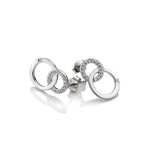 Striking Interlocking Earrings