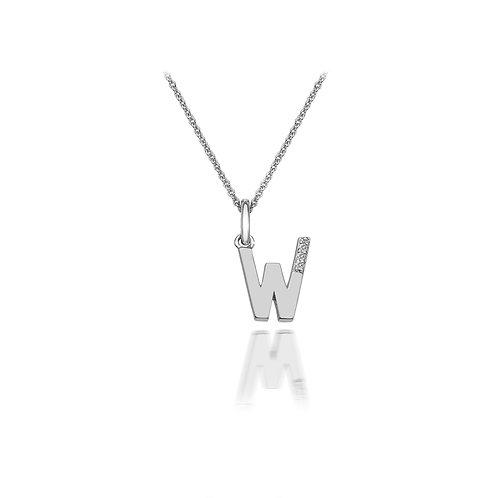 'W' Micro Pendant