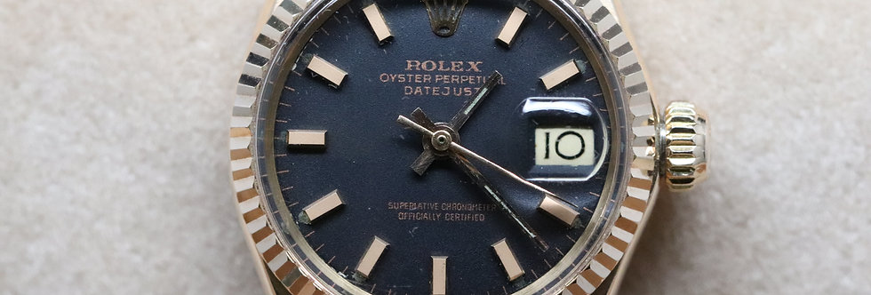 Rolex Ladies Datejust 18ct Rose Gold