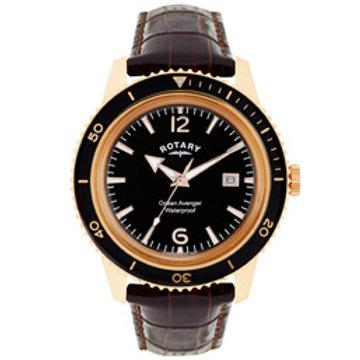 Ocean Avenger Rose Gold plated watch