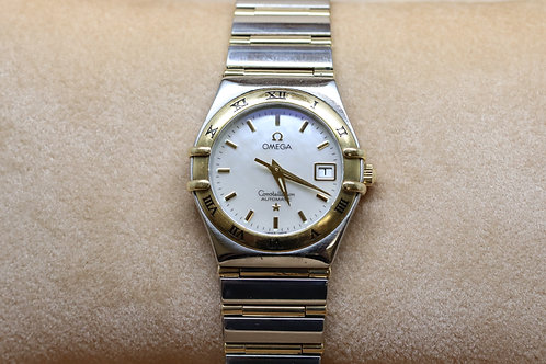 Ladies Omega Constellation 18ct & Stainless Steel Automatic