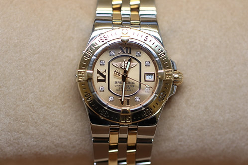 Breitling Galactic Starliner 18ct Gold and Steel