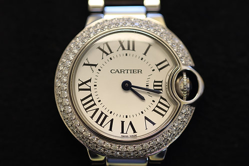 Cartier Ballon Bleu with Diamonds
