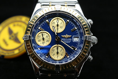 18ct Gold and Steel Breitling Chronomat