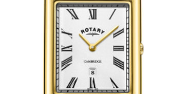 Rotary Gents Gold PVD Bracelet Cambridge