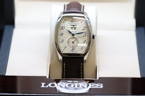 Longines Evidenza Steel on Leather Strap