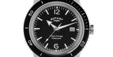 Rotary Ocean Avenger Men's Stainless Steel Watch
