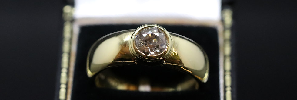 18ct Yellow Gold 1.06ct Old Cut Ring