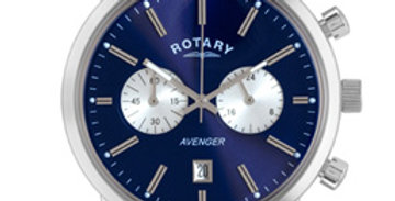 Rotary men's Blue dial Avenger Chrono