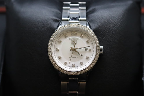 Ladies Tag Heuer Carrera M.O.P Diamond Dot Dial