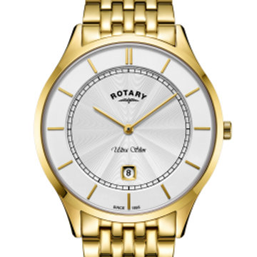 Rotary Ultra Slim Gold Stainless Steel