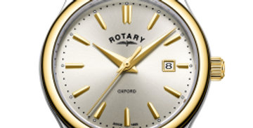 Rotary Two Tone Gold Oxford Ladies