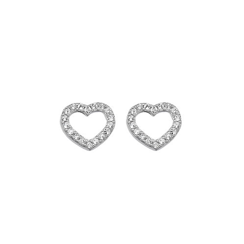 Striking Heart Earrings