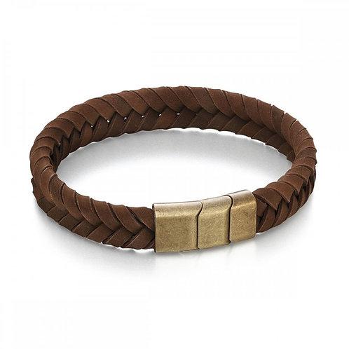 FRED BENNETT Leather Clasp Bracelet