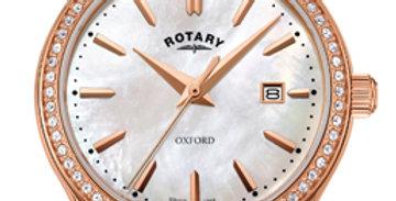 Rotary Oxford Rose Gold Quartz Watch