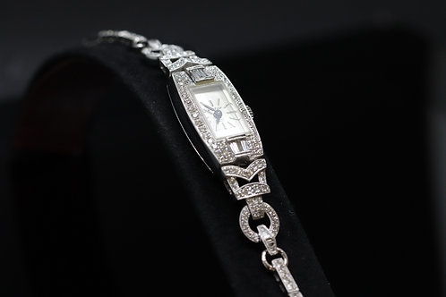 Original Art Deco Diamond Cocktail Watch