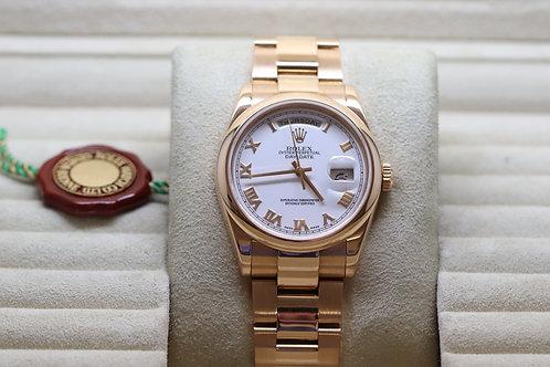 Rolex Day-Date in Everose Gold