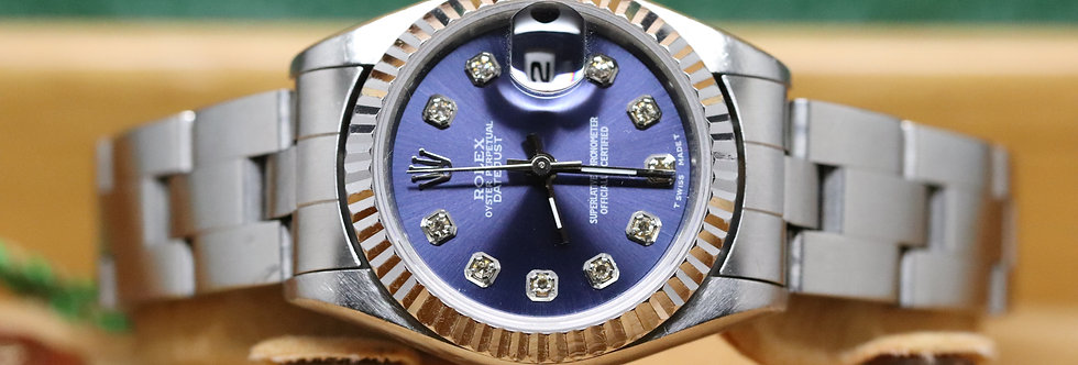Rolex Ladies Datejust Diamond Dot Dial