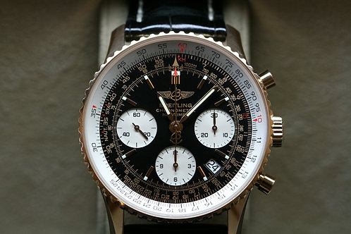 18ct Rose Gold Limited Edition Breitling Navitimer - Automatic