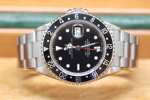Rolex GMT Master in Stainless Steel