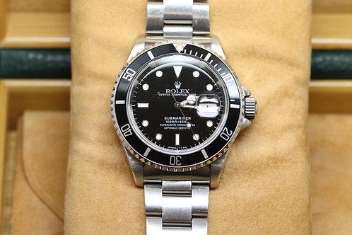 Rolex Submariner Date Stainless Steel