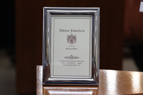 Solid Hallmarked Sterling Silver Picture Frame