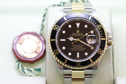 Rolex Submariner 18ct and Stainless Steel