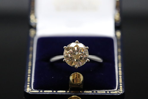 2.44ct Diamond Solitaire in 18ct Gold