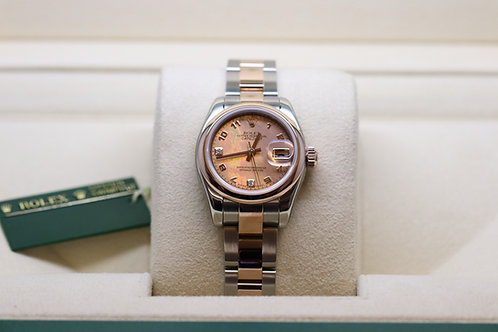 Ladies Rolex Datejust *Gold Dust Dial* 18ct Rose Gold and Stainless Steel