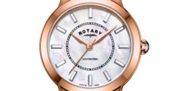 Rotary Rose Gold PVD Swarovski Crystal Kensington