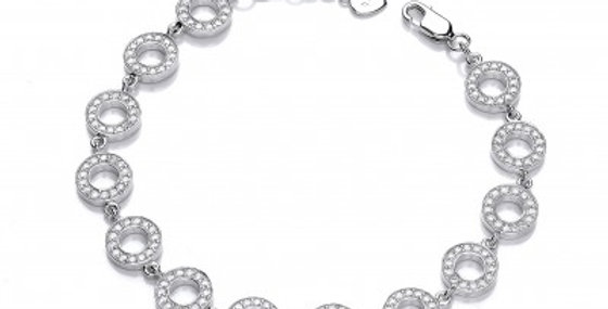 Cubic Zirconia Polo Bracelet