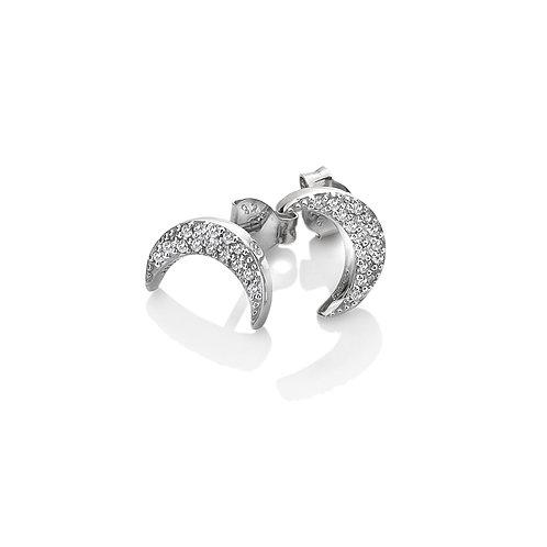Striking Crescent Earrings