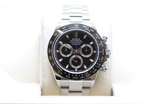 Rolex Cosmograph Daytona with Ceramic Bezel in Stainless Steel